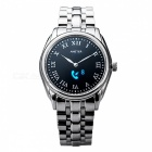 B8 OLED Touch Screen Stainless Steel Bluetooth Round Quartz Smart Watch