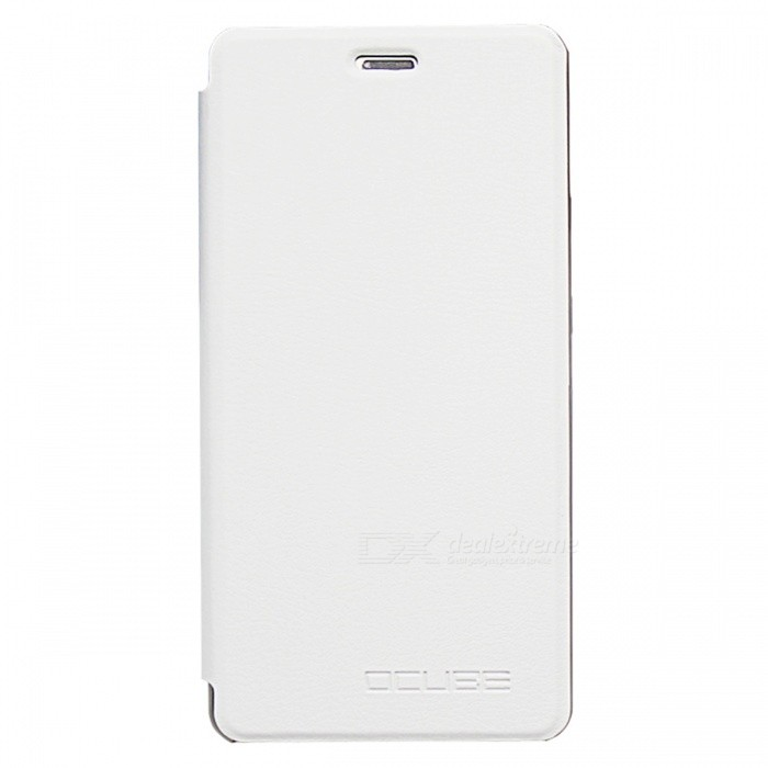 OCUBE PU Leather Case for Cubot Echo Mobile Phone - White