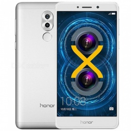 Huawei Honor 6X 5.5'' 4G LTE Mobile Phone w/ 4GB RAM 64GB ROM - Silver