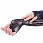 Sexy Sunscreen Touch Gloves Sexy Accessories Mesh Tempting Gloves