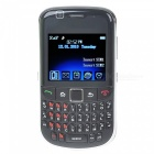 "F66 2.0"" TFT Dual SIM Dual Standby Quadband GSM TV Cell Phone - Black"
