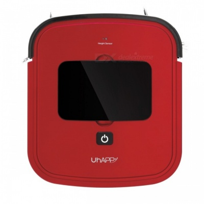UHAPPY UR01 Ultra-thin Cleaning Robot Vacuum Cleaner Sweeper - Red