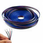 KWB 4 Color 5m RGB Extension Cable Line for LED Strip RGB 5050 3528