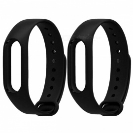 Replacement TPU Wrist Band for Xiaomi MI Band 2 - Gray White