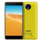 "Cagabi one 5"" HD Android 6.0 Smartphone w/ 1GB RAM + 8GB ROM - Yellow"