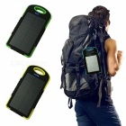 Ismartdigi A50 8000mAh Power Bank w/ Solar Charge for Mobiles - Black