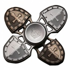 Popular Bronze Cross Style Hand Spinner Gyroscope Rotor Gyro Toy