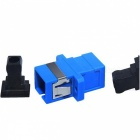 Blue Black SC / SX Simplex Flansch Lichtwellenleiter Optical Adapters (10Pcs)
