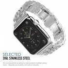 Miimall Stainless Steel Smart Watch Strap Band for Apple Watch 42mm