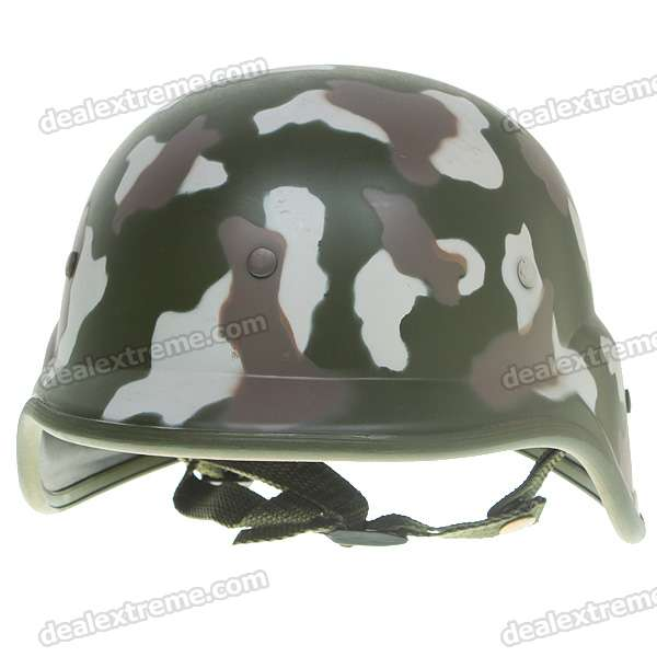 Woodland Camouflage Color Helmet