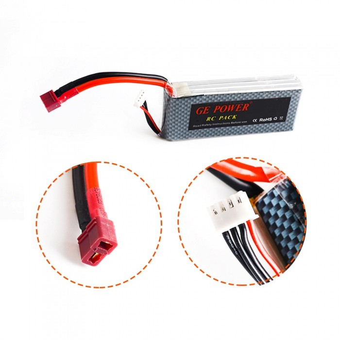 11.1V 2800mAh 35C 3S Battery Pack for RC Helicopter RC Airplane
