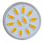 YouOKLight MR11 3W 5733-SMD 12-LED Ampoule Blanc chaud DC10 ~ 30V 6PCS