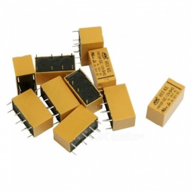 HK19F DC 12V Coil DPDT 8 Pin PCB General Purpose Power Relay (10 PCS)