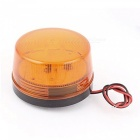 DC 12V 60W gul plast Housing LED-blixt Strobe Signal Light