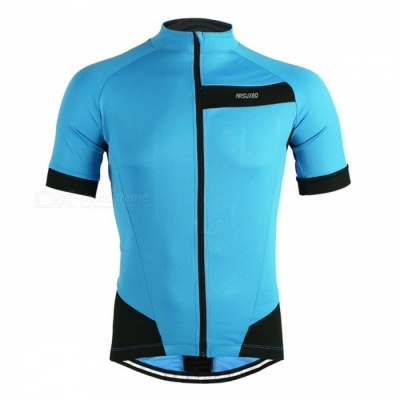 ARSUXEO 631 Outdoor Sports Cycling Short-Sleeve T-shirt - Blue (XXL)