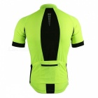 ARSUXEO 631 Men's Short-sleeved Cycling Jersey Shirts - Green (XXL)