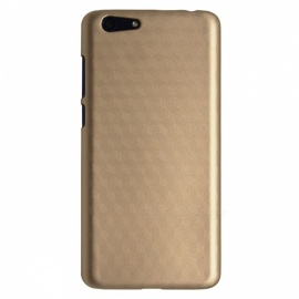 "OCUBE Luxury Protective PC Hard Back Case for 5.5"" Elephone S7 - Gold"