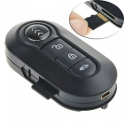 8GB 1080P Car Key fjärrkontroll Camera w / IR Night Vision - Svart