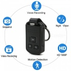 Mini HD 1080P Motion Detection Auto Schlüssel Kamera DVR - Schwarz