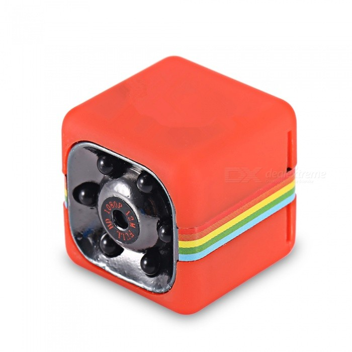 KELIMA SQ11 HD 1080P 12MP Mini Camera Car DVR w/ Motion Detection -RedCamcorders<br>Form  ColorRedModelSQ11Shade Of ColorRedMaterialABSQuantity1 DX.PCM.Model.AttributeModel.UnitImage SensorCMOSImage Sensor SizeOthers,NoAnti-ShakeNoFocal Distance6 DX.PCM.Model.AttributeModel.UnitFocusing Range6mWide Angle140 degreesEffective Pixels1080P (1920 x 1080),720P (1280 x 720)Picture FormatsOthers,JPGStill Image Resolution12M (4032 x 3024)Video FormatAVIVideo Resolution1080P (1920 x 1080),720P (1280 x 720)Video Frame Rate30Cycle RecordNoISOOthers,NoExposure CompensationOthers,NoSupports Card TypeSDSupports Max. Capacity32 DX.PCM.Model.AttributeModel.UnitOutput InterfaceOthers,Mini 8PIN USBLCD ScreenNoBattery included or notYesBattery Measured Capacity 200 DX.PCM.Model.AttributeModel.UnitNominal Capacity200 DX.PCM.Model.AttributeModel.UnitVoltage5 DX.PCM.Model.AttributeModel.UnitBattery Charging Time2~3 HoursLow Battery AlertsYesWaterproofNoSupported LanguagesOthers,NoPacking List1 x Mini Car DVR Camera1 x USB / TV Out 2-in-1 Cable1 x Bracket1 x User Manual in Chinese and English<br>