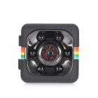 KELIMA SQ11 1080P 12MP fotoaparát Mini Car DVR w / Motion Detection - Black