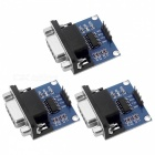 3V-5V Serial Port RS232 to TTL Converter Modules - Blue (3 PCS)