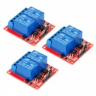 2-Channel 12V High Level Trigger Relay Modules for Arduino (3 PCS)