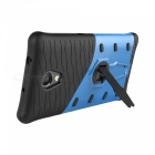 Anti-Scratches Protective Back Case w/ Holder for Lenovo Vibe P2 -Blue