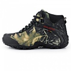 Outdoor Waterproof Ankle-High Wearing Climbing Shoes - Gris (44 #)
