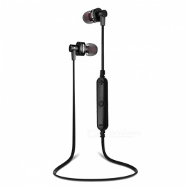 AWEI A990 BL Sports Stereo Bluetooth V4.1 In-Ear Earphones - Black