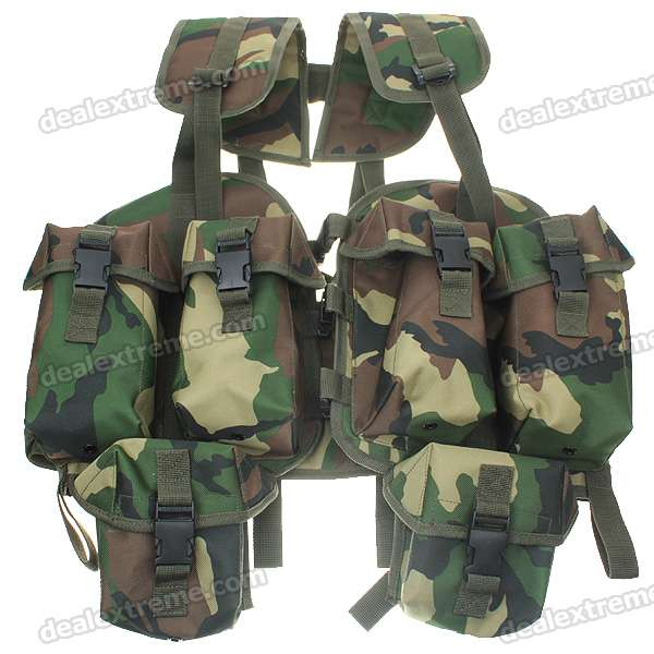 Multi Function Wilderness Survival Vest Free Shipping