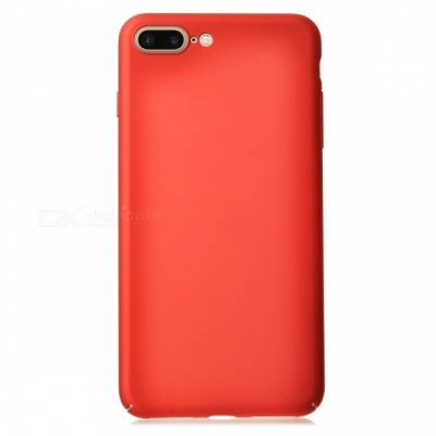 Dazzle Colour PC Hard Shell Back Case for IPHONE 7 PLUS - Red