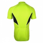 ARSUXEO 665 Sports Running Cycling Jersey à manches courtes - Vert (M)