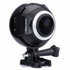 Mini 360' Ultra HD 4K 2448*2448 WiFi Action Camera - Black