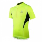 ARSUXEO 665 Sports Running Cycling Short-Sleeve Jersey - Green (XL)