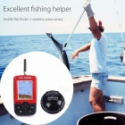 Portable Fish Finder Rechargeable & Wireless Sonar Sensor Fishfinder