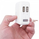 Mini 1080P HD USB mur chargeur DVR appareil-photo-Blanc