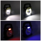 ZHISHUNJIA 4-Mode USB White + Red + Blue Light Camping Laterne-Grau