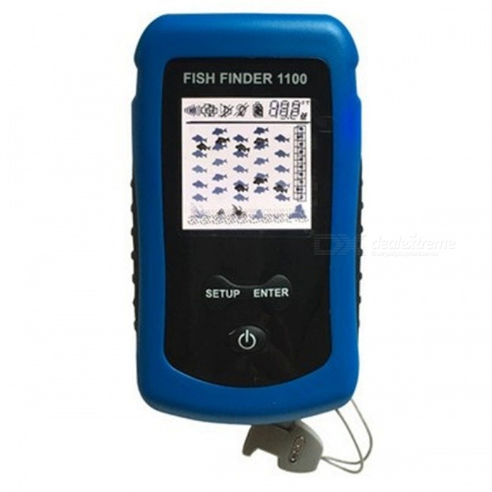 Ffw1100 wireless color fish finder for shore fishing for Wifi fish finder