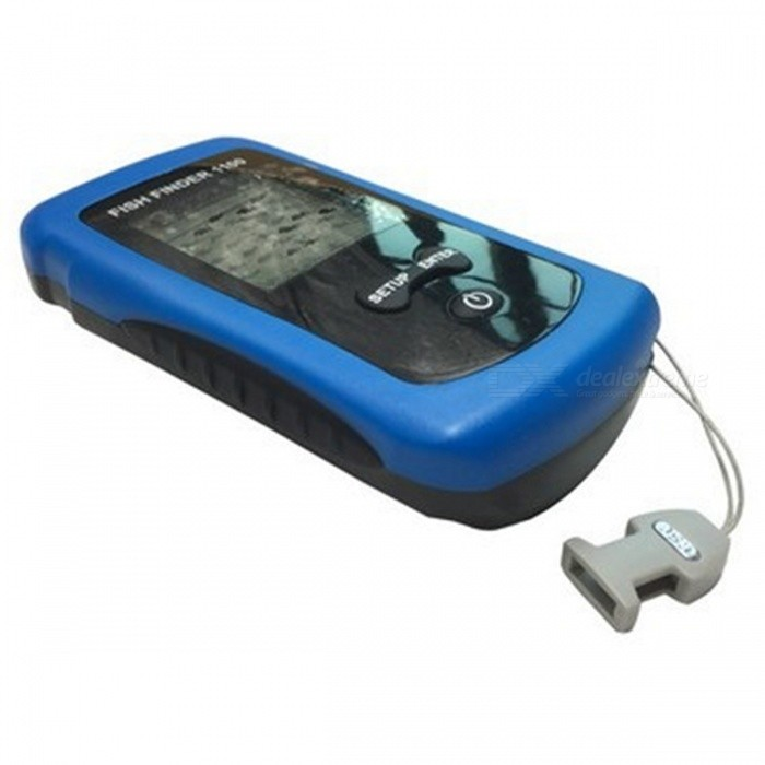 ffw1100 wireless color fish finder for shore fishing / boat, Fish Finder