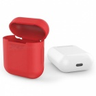 90SMART AirPods Housse de protection en silicone pour Apple Airpods - Rouge