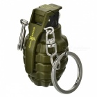 Multifunctional Creative Grenade Shaped Lighters - Army Green (2Pcs)
