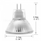 YouOKLight MR11 2W 5733-SMD 9-LED Light Bulb Warm White DC10~30V, 6PCS