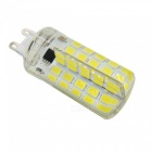 YWXLight G9 5W 80LED Warm White Dimmable LED Silica Gel Lampe à maïs