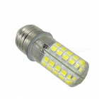 YWXLight E27 5W 80LED Cold White Dimmable LED Silica Gel Corn Lamp