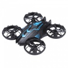 JXD 515W 2.4GHz WiFi FPV 4-CH Mini RC Quadcopter - Blau + Schwarz