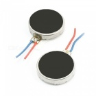 10mm x 2.5mm Disc Shape Vibrating Vibration Motors (2 PCS)