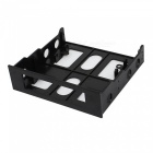 "3,5"" till 5,25"" Drive Bay Computer Case Adapter Bracket - Svart"
