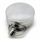 Easy to Carry Anti-theft Throw Scaling Prevention Keychain - Silver