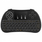 BLCR P9 Mini 2.4GHz Wireless Keyboard w/ Touchpad - Black